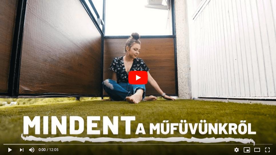 Mindent a műfűről Life Of Julcsi erkély, video előkép